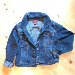 🐝Arizona Jean Co. S 7/8 dark blue jean jacket
